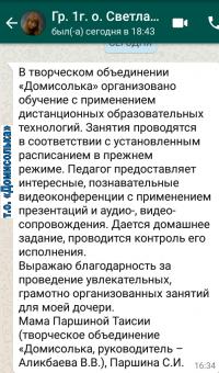 Otzyv Domisolka 2